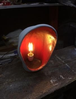 Luchthapperlamp