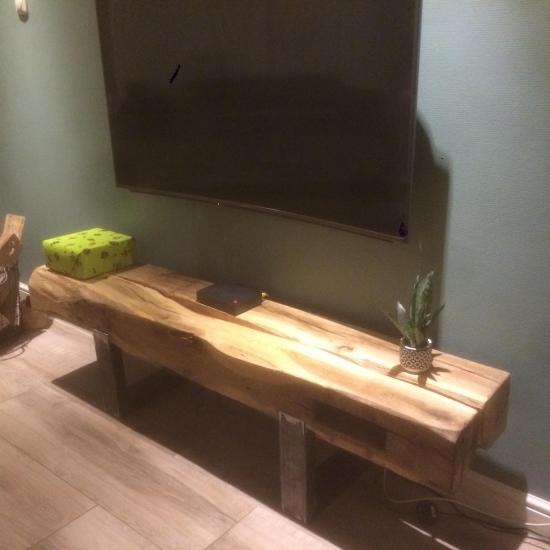 Gebint tafel/TV meubel op maat